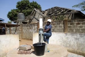 The Water Project: Rotifunk Baptist Primary School -  Successful Installation