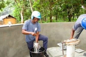 The Water Project: Kitonki Community A -  Pump Installation