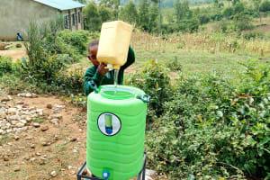 The Water Project: St. Joseph Eshirumba Primary School -  Handwashing Station