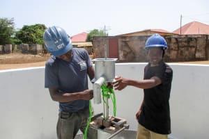 The Water Project: Mahera Community, 3 Robolla Street -  Pump Installation