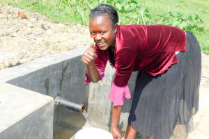 The Water Project: Ulagai Community, Rose Obare Spring -  Lilian Ngesa