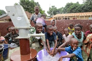 The Water Project: Kasongha Community, Maternal Child Health Post -  Clean Water