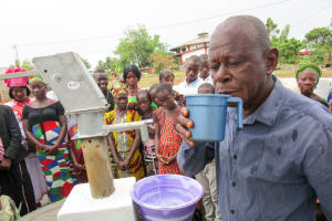 The Water Project: Targrin Community -  Clean Water