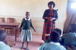 The Water Project: St. Joseph Eshirumba Primary School -  Training