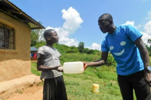 The Water Project: Ulagai Community, Rose Obare Spring -  Water Treatment Training