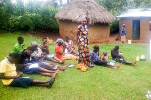 The Water Project: Mwituwa Community, Shikunyi Spring -  Training