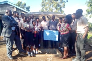 The Water Project: Erusui Secondary School -  Dedication