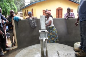 The Water Project: Kitonki Community A -  Successful Installation