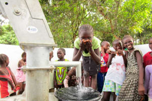 The Water Project: Kitonki Community A -  Clean Water