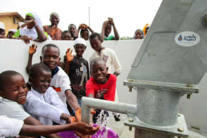 The Water Project: Molokoh Community, 720 Main Motor Road -  Clean Water