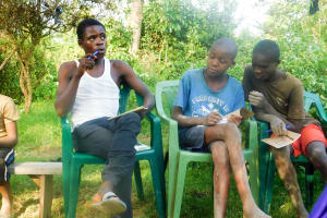 The Water Project: Ulagai Community, Aduda Spring -  Training
