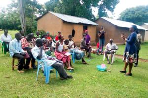 The Water Project: Nambatsa Community, Odera Spring -  Training