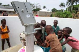 The Water Project: Kasongha Community, Kombrai Road -  Clean Water