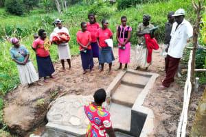 The Water Project: Mwituwa Community, Nanjira Spring -  Spring Management Training