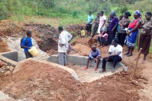 The Water Project: Lwangele Community, Machayo Spring -  Management And Maintenance Training