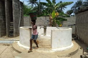 The Water Project: Rosint Community, 16 Gilbert Street -  April Monitoring Visit