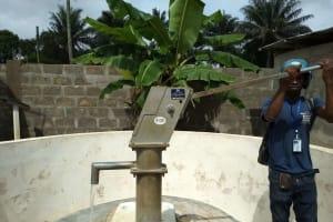 The Water Project: Rosint Community, 16 Gilbert Street -  July Monitoring Visit