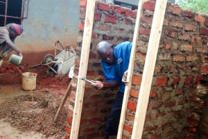 The Water Project: Mulwakhi Primary School -  Latrine Construction