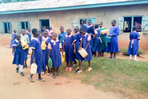 The Water Project:  Girls Getting Ready To Fetch Water