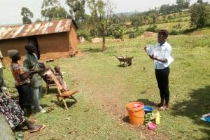 The Water Project: Musango Community, Jared Lukoko Spring -  Training