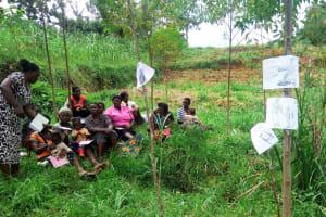 The Water Project: Emulakha Community, Alukoye Spring -  Training