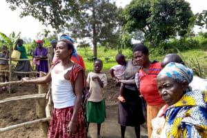 The Water Project: Nambatsa Community, Odera Spring -  Spring Management Training