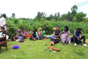 The Water Project: Mbande Community, Handa Spring -  Training
