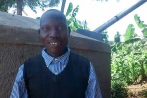 The Water Project: Mwanzo Primary School -  Albert Anjichi