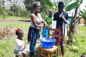 The Water Project: Matsakha Community, Mbakaya Spring -  Handwashing Training