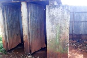 The Water Project: Viyalo Primary School -  Latrines