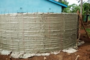 The Water Project: Mulwakhi Primary School -  Tank Construction