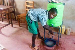The Water Project: St. Joseph Eshirumba Primary School -  Handwashing Training