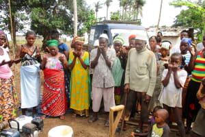 The Water Project: Tulun Community, 10 Tulon Road -  Breaking First Ground