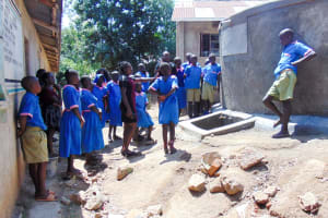 The Water Project: Eshiamboko Primary School -  Tank Management Training