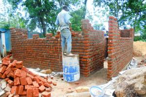 The Water Project: Essaba Secondary School -  Latrine Construction
