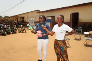 The Water Project: Kasongha Community, Maternal Child Health Post -  Oral Hygiene Training