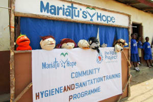 The Water Project: Kasongha Community, Kombrai Road -  Hygiene Puppet Show