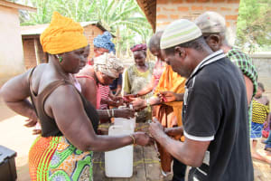 The Water Project: Molokoh Community, 720 Main Motor Road -  Building Tippy Taps