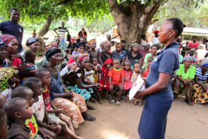 The Water Project: Kitonki Community A -  Training