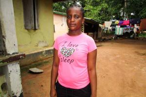The Water Project: Tulun Community, 10 Tulon Road -  Interview Kadijah Irene Bai Bangura