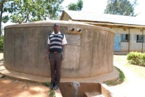 The Water Project: Bumuyange Secondary School -  Geoffrey Anai