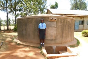 The Water Project: Bumuyange Secondary School -  Scolastica Luvusi