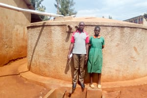The Water Project: Kilingili Primary School -  Mercy Owela Beside Wewasafo Staff