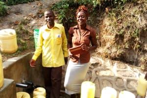 The Water Project: Shitungu Community, Hessein Spring -  Mr Hussein Rajab