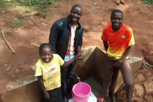 The Water Project: Emabungo Community, Bondeni Spring -  Smiles For Reliable Water