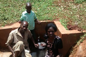 The Water Project: Kidinye Community, Wamwaka Spring -  Clean Water For All