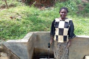 The Water Project: Shitoto Community, Abraham Spring -  Brenda Mukhalia