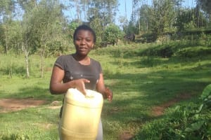 The Water Project: Irungu Community, Irungu Spring -  Christine Aleo