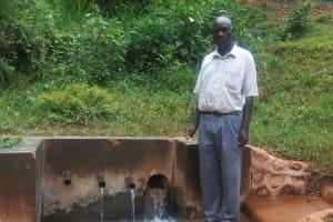 The Water Project: Shitaho Community, Mwikholo Spring -  Kola Fastus