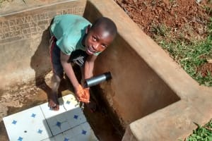 The Water Project: Eluhobe Community, Amadi Spring -  Michael Omuchina